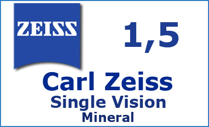 Carl Zeiss Single Vision 1.5 mineral