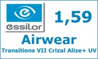 Airwear Transitions VII Crizal Alize+ UV