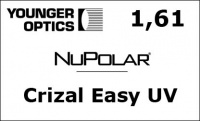 NuPolar 1,61 Crizal Easy UV