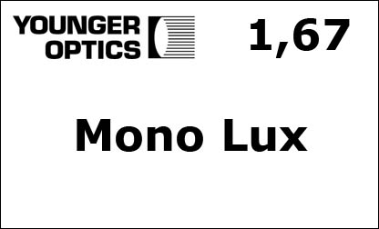 Younger Optics 1.67 Mono Lux RX