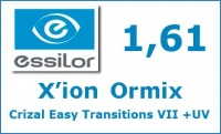 X'ion Ormix Crizal Easy Transitions VII+ UV