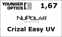 NuPolar 1,67 Crizal Easy UV