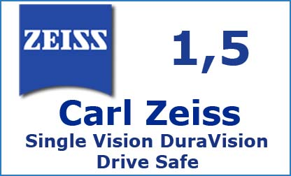 Carl Zeiss Single Vision 1.5 DuraVision Drive Safe