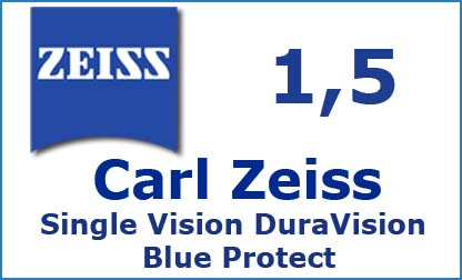 Carl Zeiss Single Vision 1.5 DuraVision Blue Protect